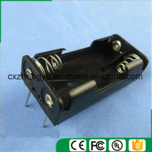 2AAA Battery Holder with Contact Pin pictures & photos