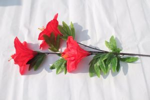 Silk Lily Handmake Artificial Flower Head Wedding Decoration Fake Flower pictures & photos