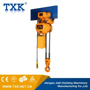 5ton Electric Chain Hoist with Hook Suspension pictures & photos