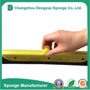 Replaceable Sunlight Resistant Rubber Squeegee Floor Squeegee Foam Head Blade pictures & photos