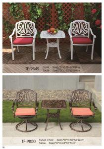 Best Choice Tulip Design Antique Copper Cast Aluminum Bistro Set pictures & photos