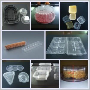 BOPS Material 0.10 mm Sheet Automatic Plastic Thermoforming Machine pictures & photos