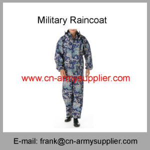 Military Rainwear-Military Raincoat-Rain Jacket-Military Poncho-Military Camouflage Poncho pictures & photos