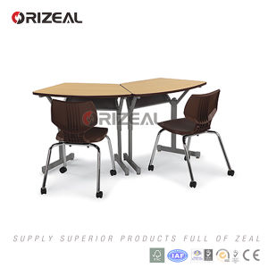 School Furniture of Classroom Student Desk Chosen for Collaborative Learning Classrooms pictures & photos