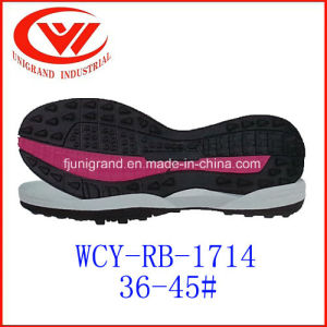 Soccer Shoes Outsole Rubber Material Outsole for Making Sports Shoes pictures & photos
