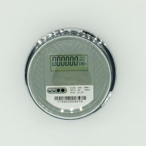 Dds-1 Single Phase Two Wire Round Kwh Meter pictures & photos