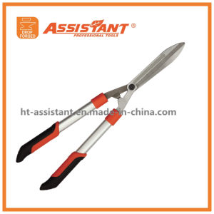 Wavy-Serrated Drop Forged Hedge Shears with Aluminum Handles pictures & photos