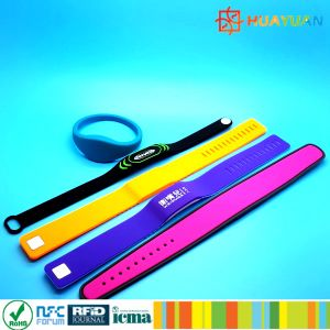 4K byte INFINEON CIPURSE4move RFID silicone Wristband for payment pictures & photos