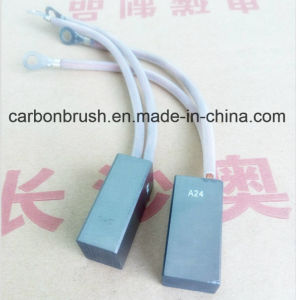 Sales for High Quality Metal Carbon Brush A24 pictures & photos