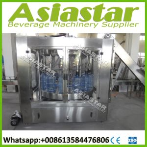 1200bph Automatic 5 Gallon Barrel Water Filling Producing Line pictures & photos