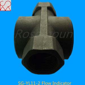Carbon Steel PTFE Rotor Water Flow Indicator pictures & photos