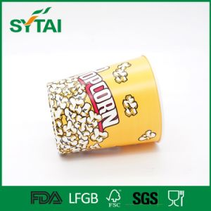 Custom Printed Paper Round Popcorn Buckets pictures & photos