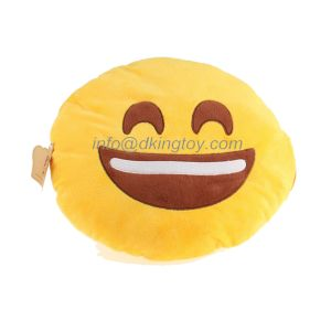 Emoji Wholesale Kids Gift Soft Bed Stuffed Plush Toys Pillow pictures & photos