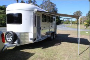 Custom 3hal Horse Trailer, Australian Standards pictures & photos