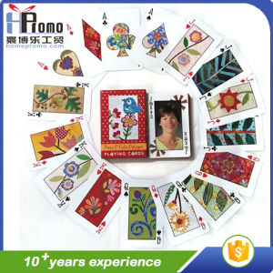 Poker Playing Cards with Full Printing pictures & photos
