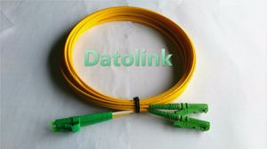 E2000-LC/APC Sm Dx Fiber Optic Patch Cord pictures & photos