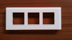 Manufacture High Quality Colourful Tempered Glass Switch Panel pictures & photos