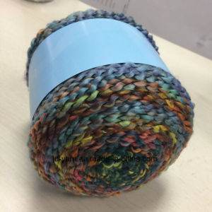 Handknitting Fancy Yarn Long Space Dyeing Cake Ball Jd9779 pictures & photos