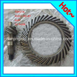 41201-80187 for Hino Crown Wheel Pinion Auto Parts pictures & photos