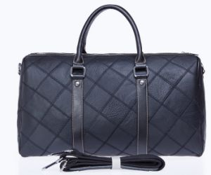 Fashion Style Quiltting Weekend Bag PU Leather Duffle Bag pictures & photos
