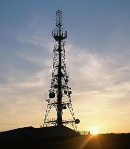 Premium Quality Tapered Telecom Steel Tower pictures & photos