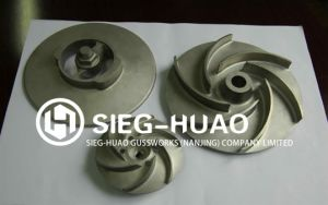 Professional Iron Casting Impeller with OEM Service