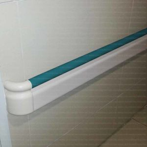 Anti-Bacterial and Anti-Collision 159mm Width PVC Handrail for Hospital pictures & photos