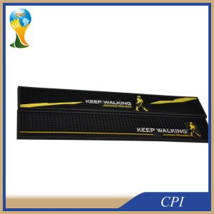 Promotion Gift Custom PVC Bar Spill Mat with Logo pictures & photos