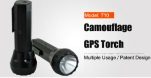 Personal GPS Tracker Common LED Torch Light Design Tracking Device T10 Tracker pictures & photos