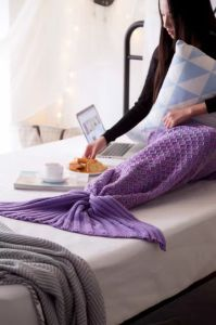 Christmas Gift Mermaid Tail Blanket Mermaid Tail Adult and Chindren Mermaid Blanket pictures & photos