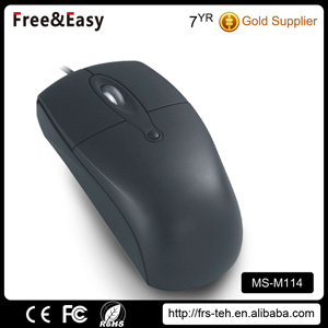 ABS Black Customized Design Cheap Wired Mouse pictures & photos