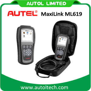 2017 OBD2 Code Scanner Autel Maxilink Ml619 ABS/SRS OBD2 Diagnostic Scanner Better Than Autolink Al619 pictures & photos