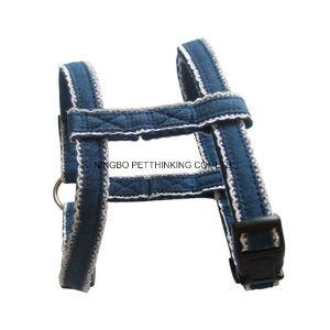 Denim Cotton Pet Harness, Dog Harness pictures & photos