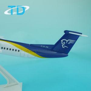 Plastic Scale Model Plane Factory Dash-8-400 Airiceland Q400 33cm pictures & photos