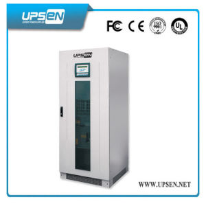 LCD Display Three Phase Pure Sine Wave 10-200kVA UPS System pictures & photos