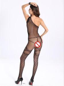 Women Ladies Erotic Sloping Shoulder Underwear Sleepwear pictures & photos