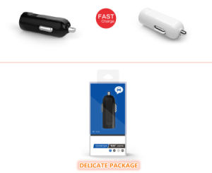 Mini USB Car Charger 5V 1A/2.1A OEM Logo Cheap Price pictures & photos