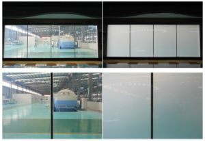 White Color Office/Hotel Room Electric Pdlc Smart Film Glass pictures & photos