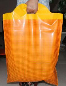 Custom Logo Design Printing Die Cut Handle Bag PE Plastic Shopping pictures & photos