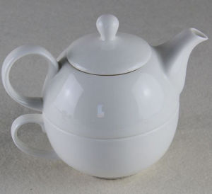 Ceramic Teapot and Cup Set 400ml China Factory pictures & photos