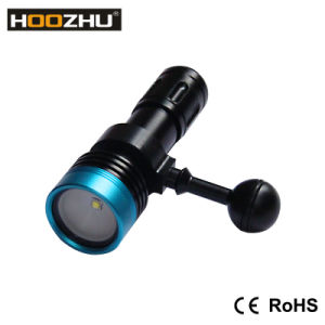 Hoozhu V11 Diving Video Flashlight Max 900 Lumnes Diving Lamps pictures & photos