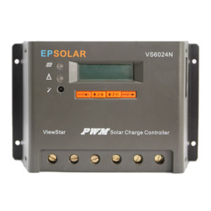 Epsolar 60A 12V/24V Vs6024n PWM Solar Panel Regulator pictures & photos