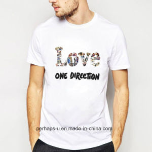 High Quality Literature and Art T-Shirts Street Snap Leisure Tee pictures & photos