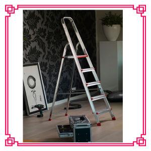 5 Steps Folding Ladder Chair Warehouse Aluminium Ladder pictures & photos