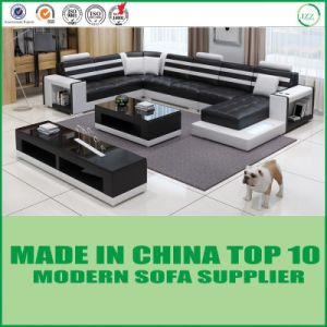 Home Furniture Living Room Leather Sofa pictures & photos
