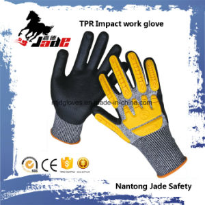 PU Coated Impact Cut Resistant Glove pictures & photos