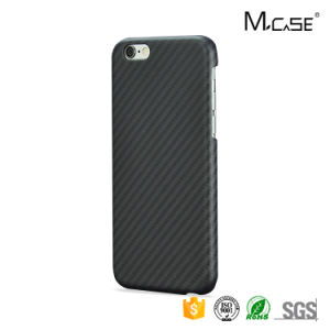 Fancy Colorful Carbon Fiber Pattern Aramid Fiber Back Covers Cases for iPhone 7 pictures & photos