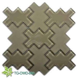Brown Irregular Glass Mosaic (TG-OWD-886) pictures & photos