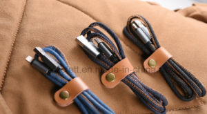 Jeans Charger&Transfer Data iPhone USB Cable pictures & photos
