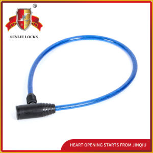 Jq8202 High Quality Safety Bicycle Lock Motorcycle Steel Cable Lock pictures & photos